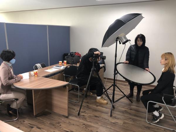 [자원봉사자 연계] 2020년 1차 보호종료(예정)아동 교육 참여자 면접사진 촬영